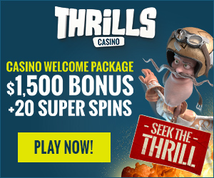 Thrills Casino Banner