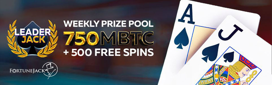 Fortunejack Casino weekly prize pool