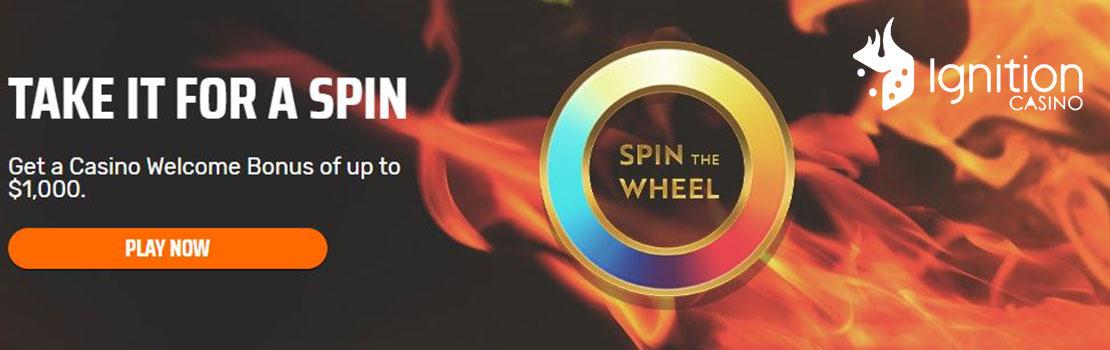 Ignition Casino 1000 welcome bonus