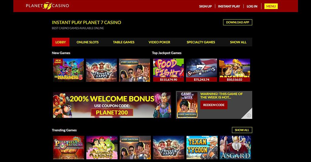 Planet 7 Casino