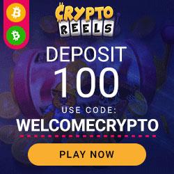CryptoReels Casino Banner