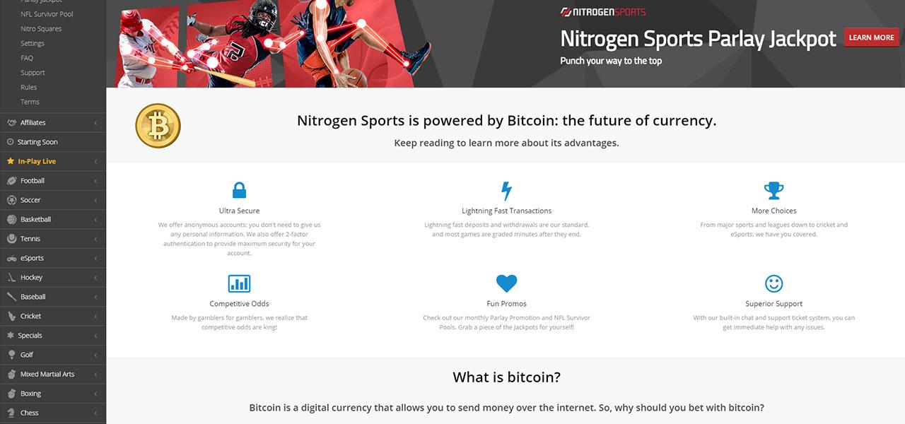 Nitrogen Sports Casino